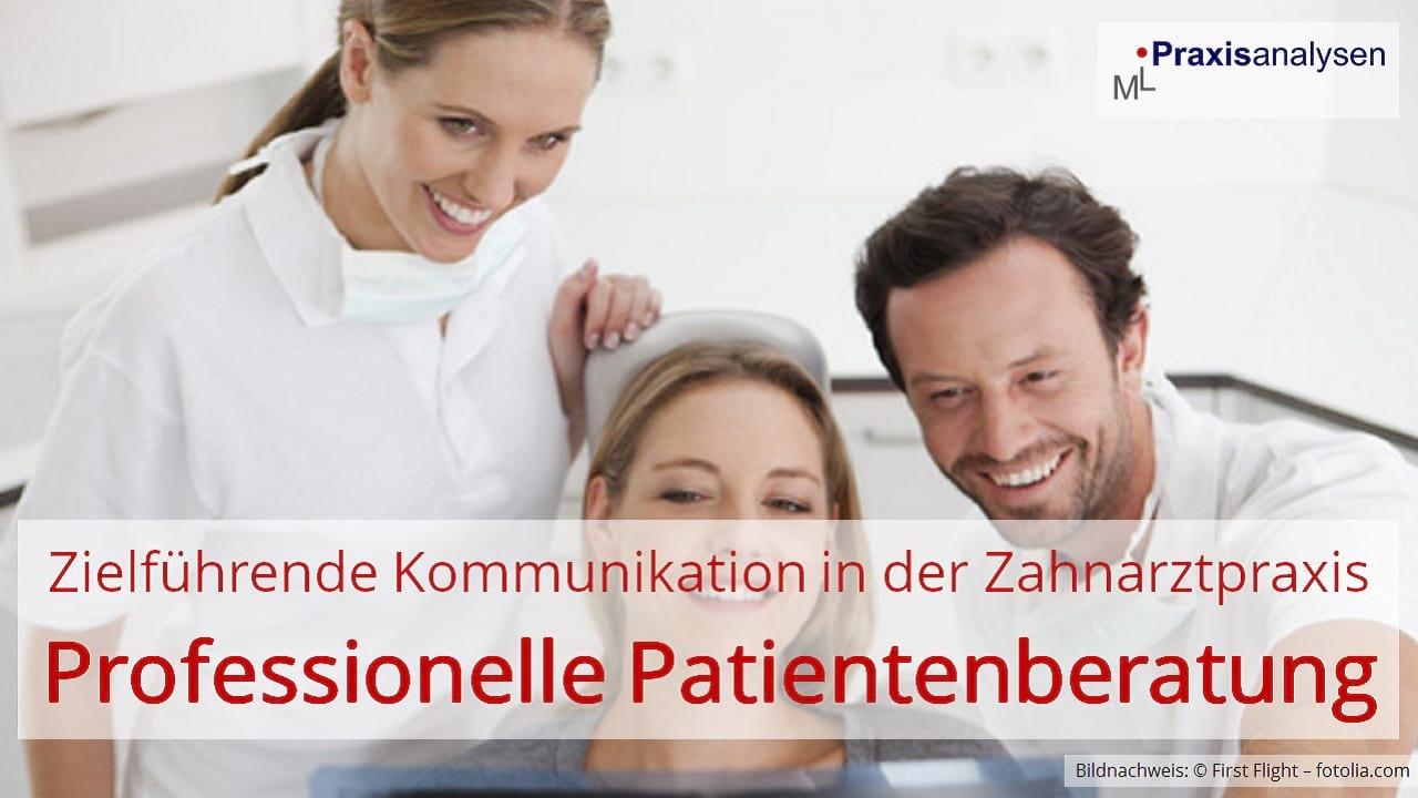 Mit einer zielführenden Kommunikation lassen sich Beratungsgespräche in der Zahnarztpraxis äußert effektiv und zeitschonend durchführen. Das sichere Kommunizieren ist Voraussetzung Nr. 1.