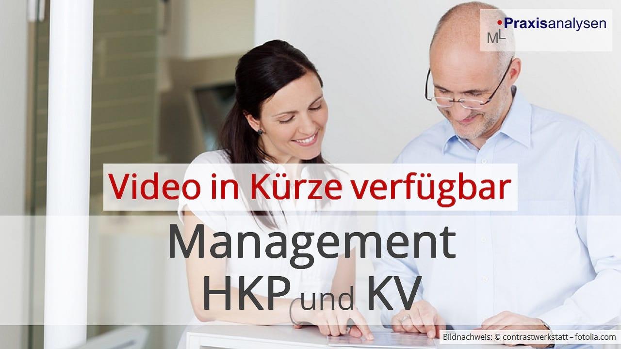 Management von HKPs und KVs