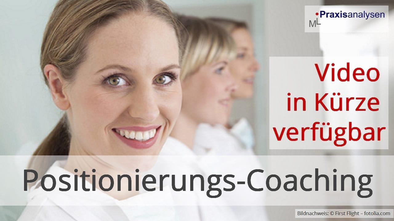 Positionierungs-Coaching für Zahnärzte